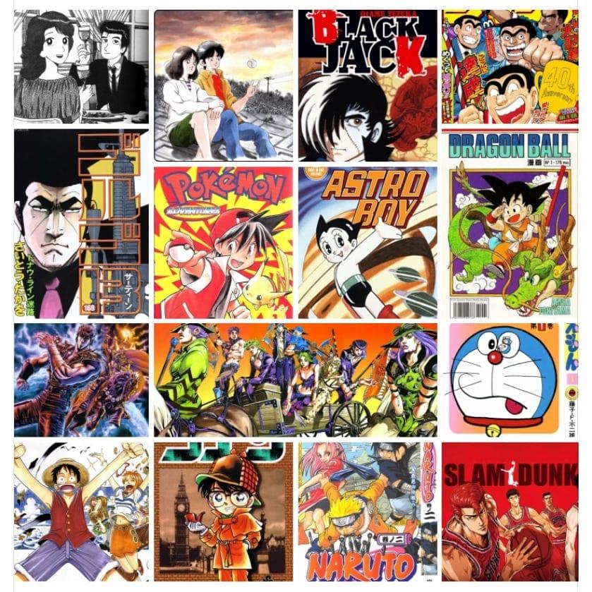 Los mangas más vendidos de la historia