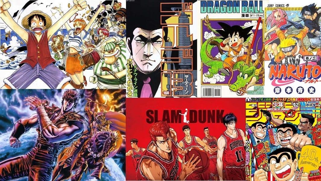 Los mangas más vendidos de la historia. Top 15