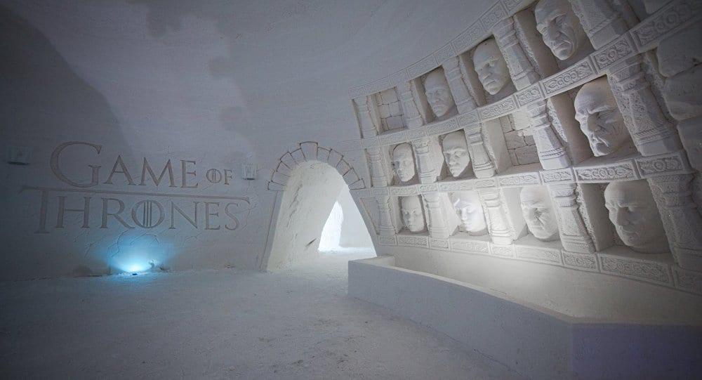 Hotel de hielo Game of Thrones