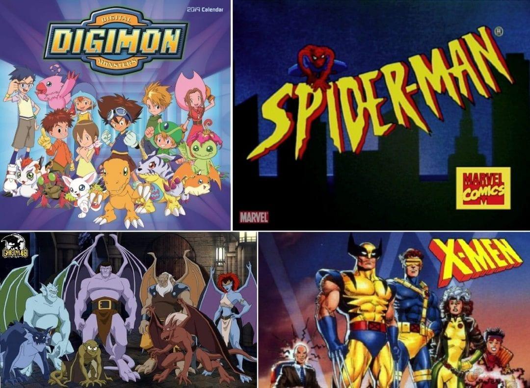 Series míticas animadas de los 90