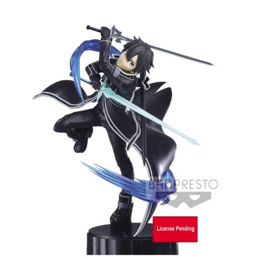 Estatua Kirito Espresto. Sword Art Online