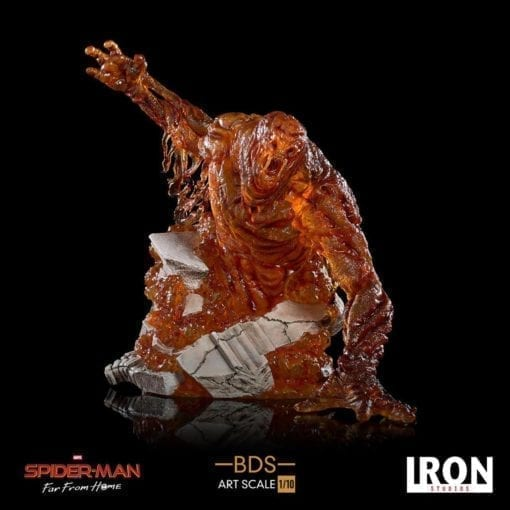 Estatua Molten Man Iron Studios
