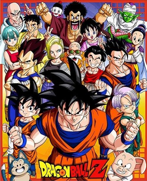 Dragon Ball Z portada. Los mejores animes de la historia