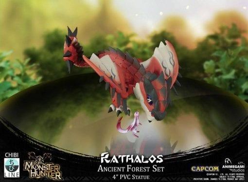 Estatua Rathalos Monster Hunter