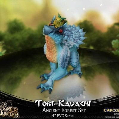 Estatua Tobi-Kadachi Monster Hunter