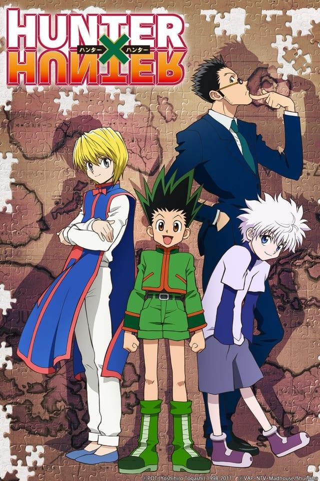 Hunter x Hunter portada. Los mejores animes de la historia