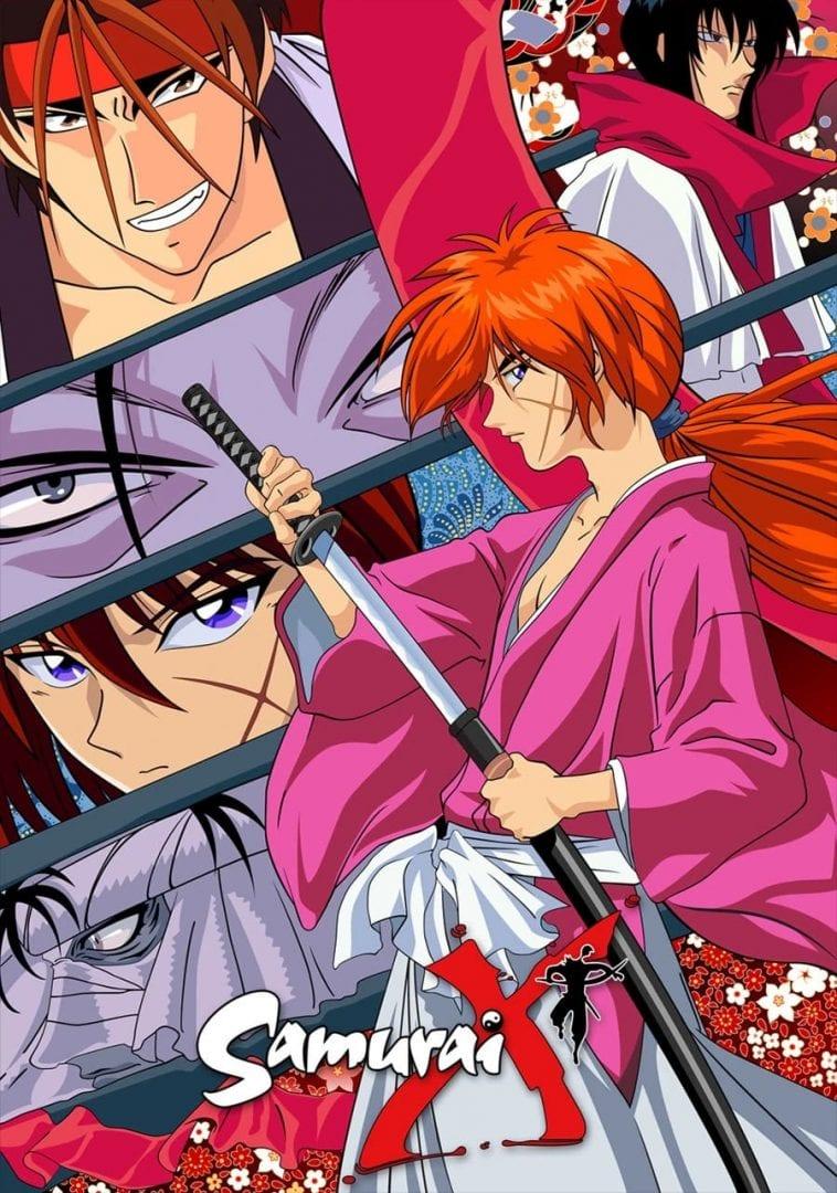 Kenshin, el guerrero samurai portada