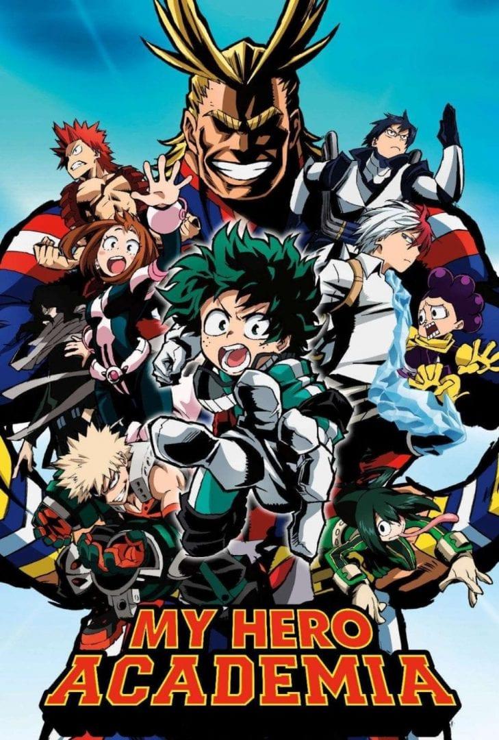 My Hero Academia portada