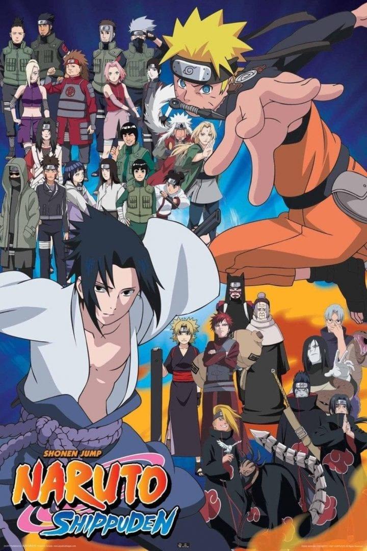 Naruto Shippuden portada