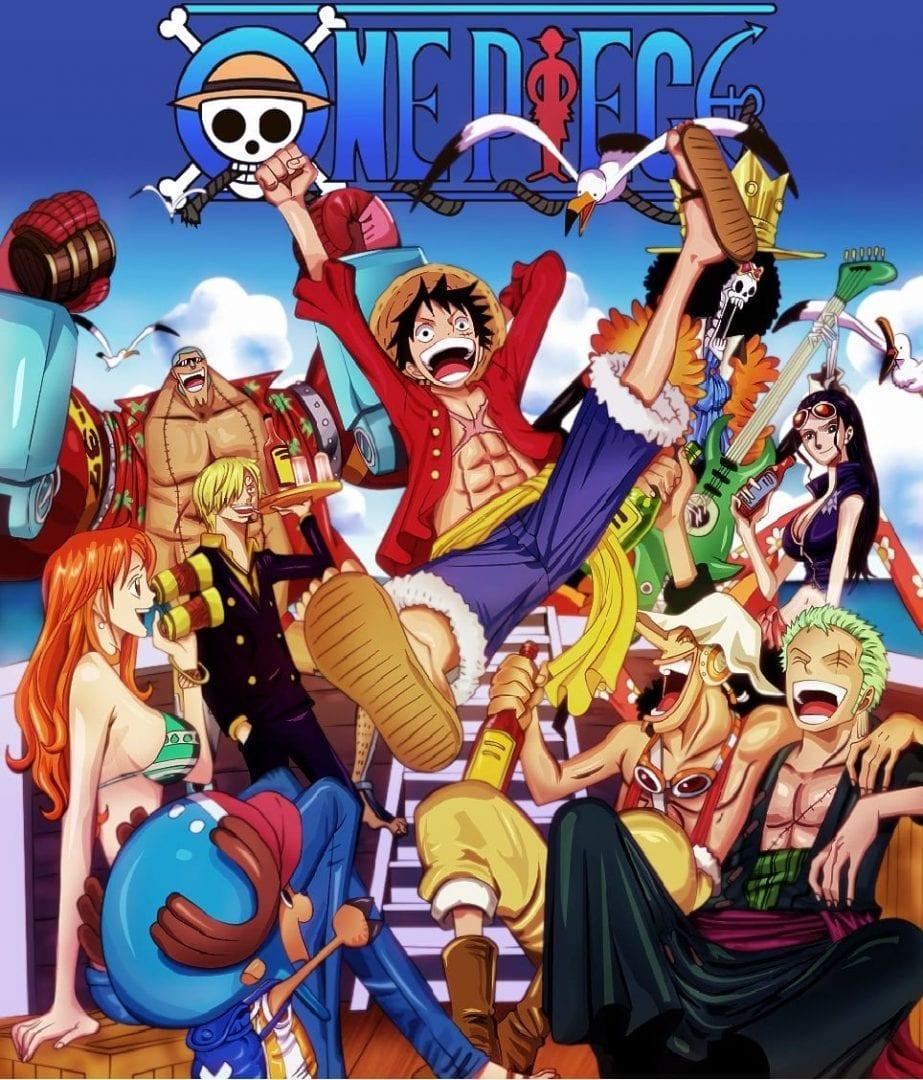 One Piece portada. Los mejores animes de la historia