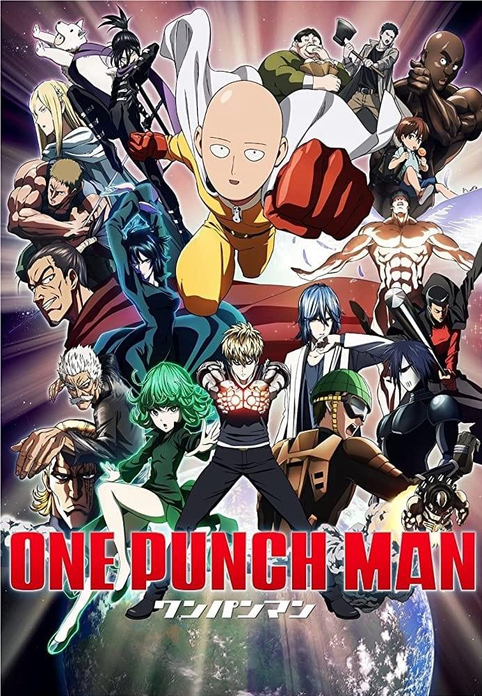 One Punch Man portada. Los mejores animes de la historia
