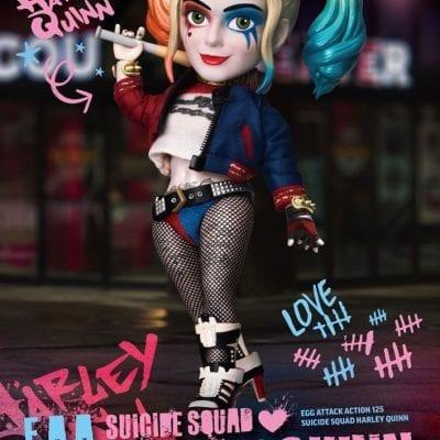 Figura Harley Quinn Egg Attack