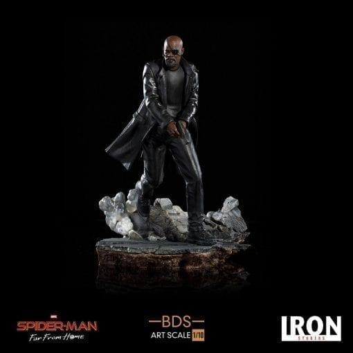 Estatua Nick Fury Iron Studios