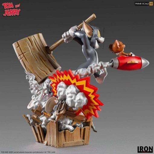 Estatua Tom & Jerry Iron Studios