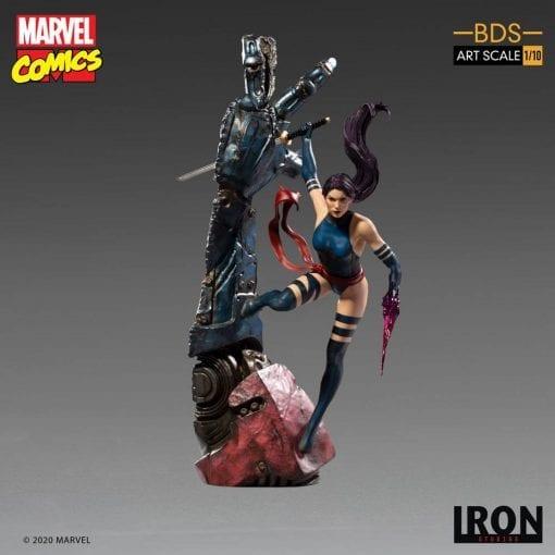 Estatua Psylocke Iron Studios