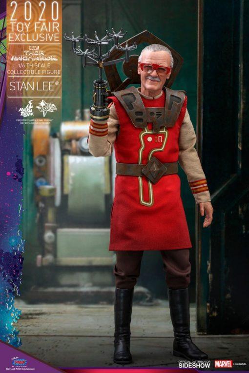 Figura Stan Lee Thor Ragnarok Hot Toys